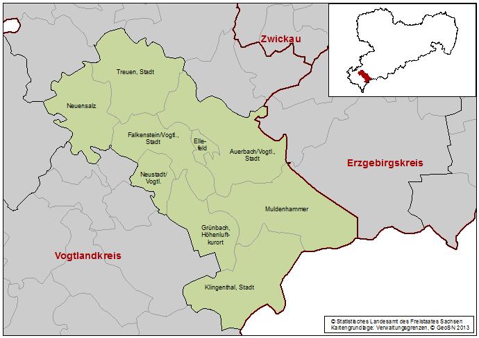 Wahlkreis 3, Vogtland 3