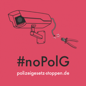 #noPolG - polizeigesetz-stoppen.de
