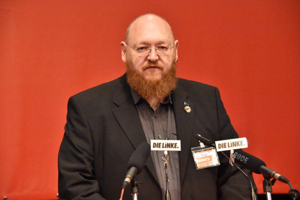 Kai spricht zur LVV 2019 Leipzig