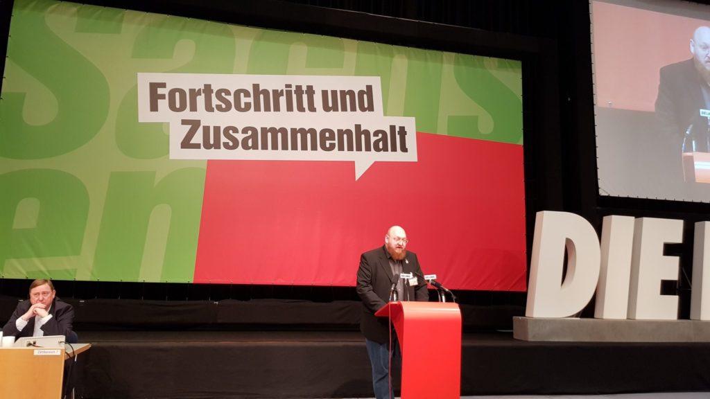 Rede vor der LVV 2019 in Leipzig