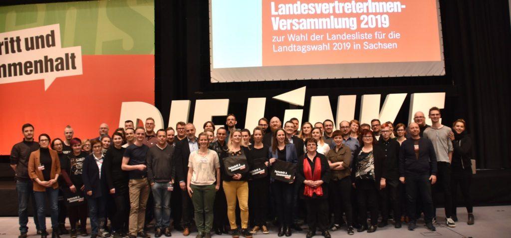 Alle Listenkandidaten der LVV 2019 in Leipzig